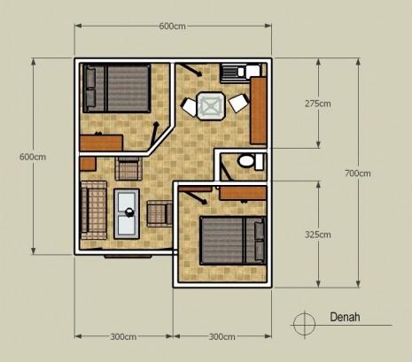 Desain Rumah Minimalis Type 36 Lamudi