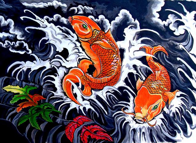 Lukisan Ikan Koi Menurut Feng Sui Lamudi