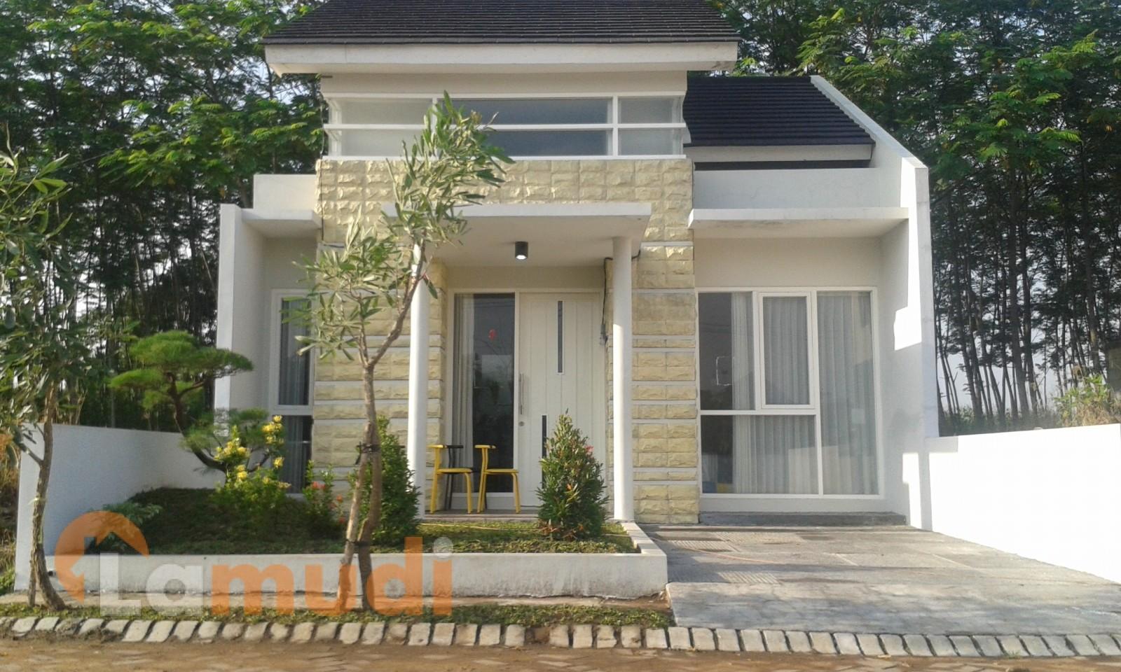 rumah minimalis full kaca