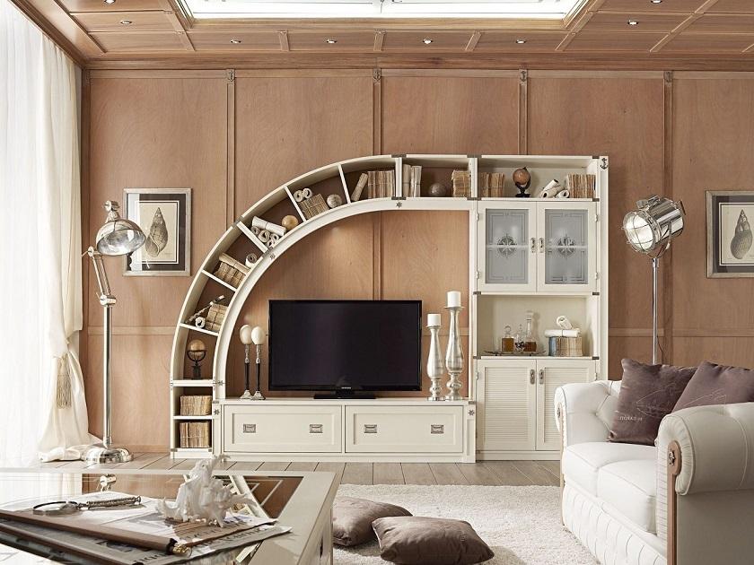 Ruang TV Desain Interior Scandinavian