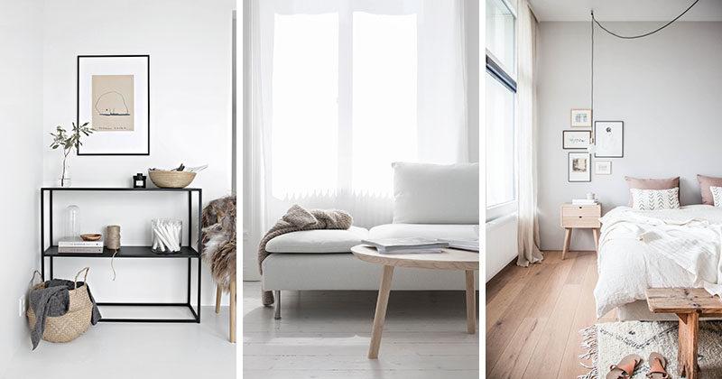 Contoh Desain Interior Scandinavian