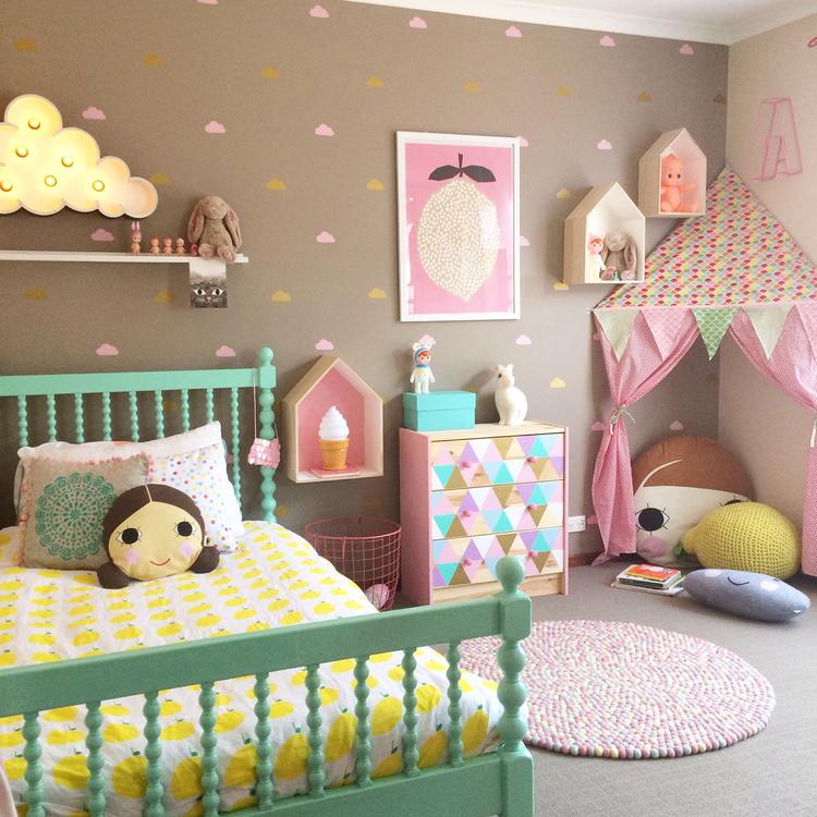 ruang tidur anak perempuan 2019