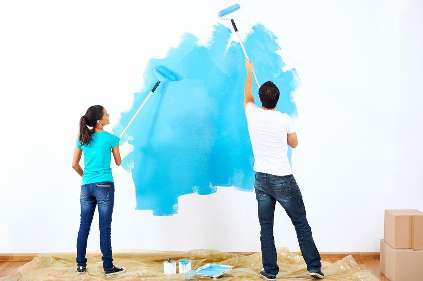 Melukis Mural untuk Dekorasi Dinding Rumah