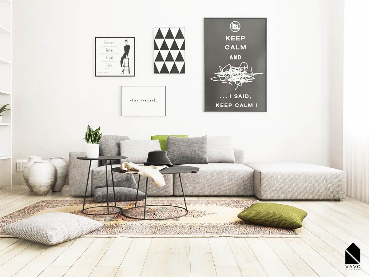 10 Desain Ruang Tamu Minimalis yang Murah untuk Dibangun ...