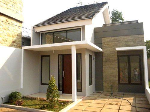 10 Desain Fasad Rumah Minimalis Yang Murah Dibangun Lamudi