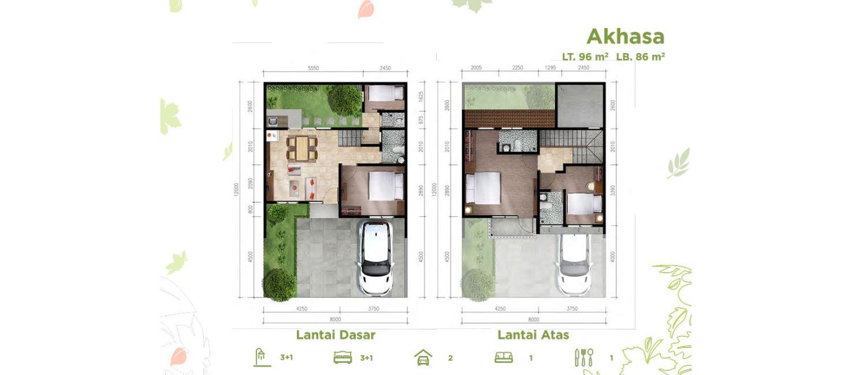 Asana Residence Tipe Akhasa