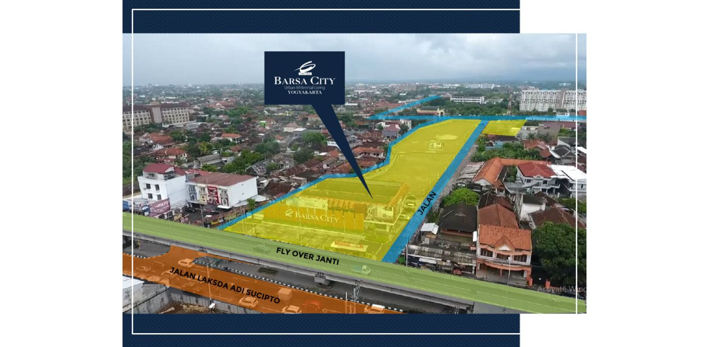 Residensial & Komersial Ciputra Barsa City di Yogyakarta