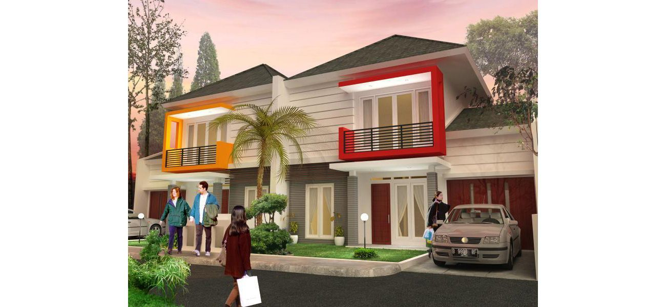 Residensial Kebun Raya Residence Tipe Boulevard di Bogor