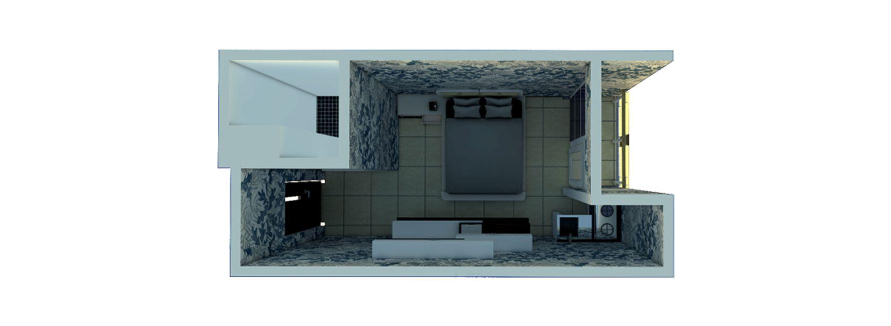 Jogja Apartel Tipe Studio