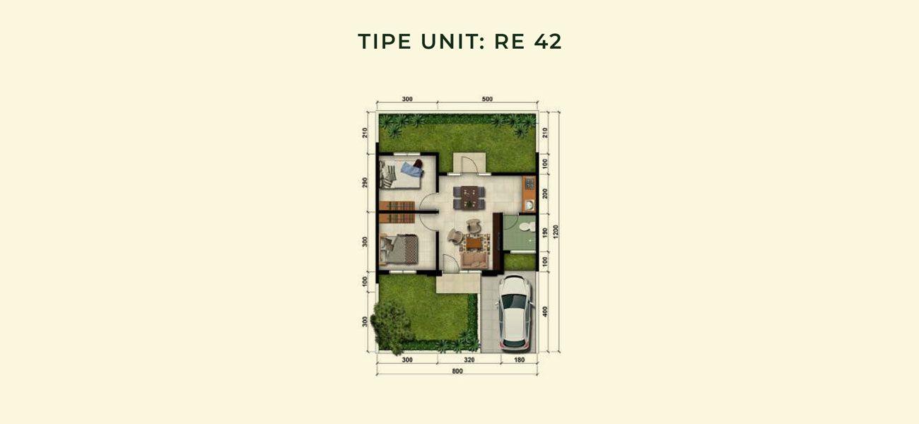 Modernland Cilejit Tipe RE 42