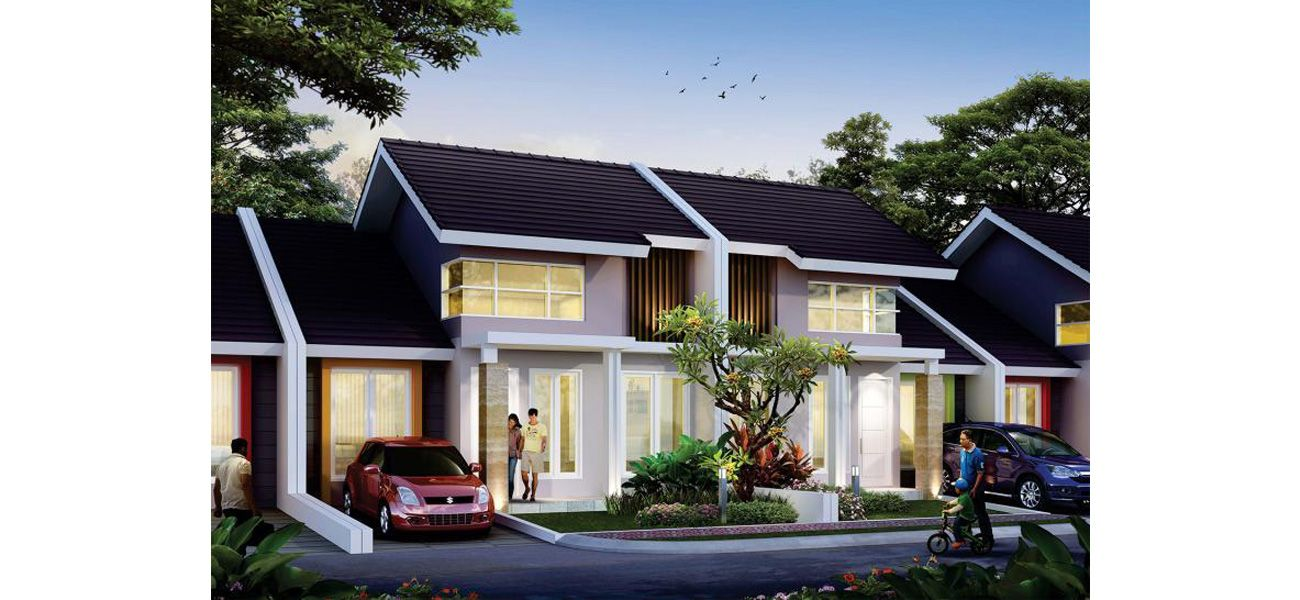 Residensial Kebun Raya Residence Tipe Amaryliss di Bogor