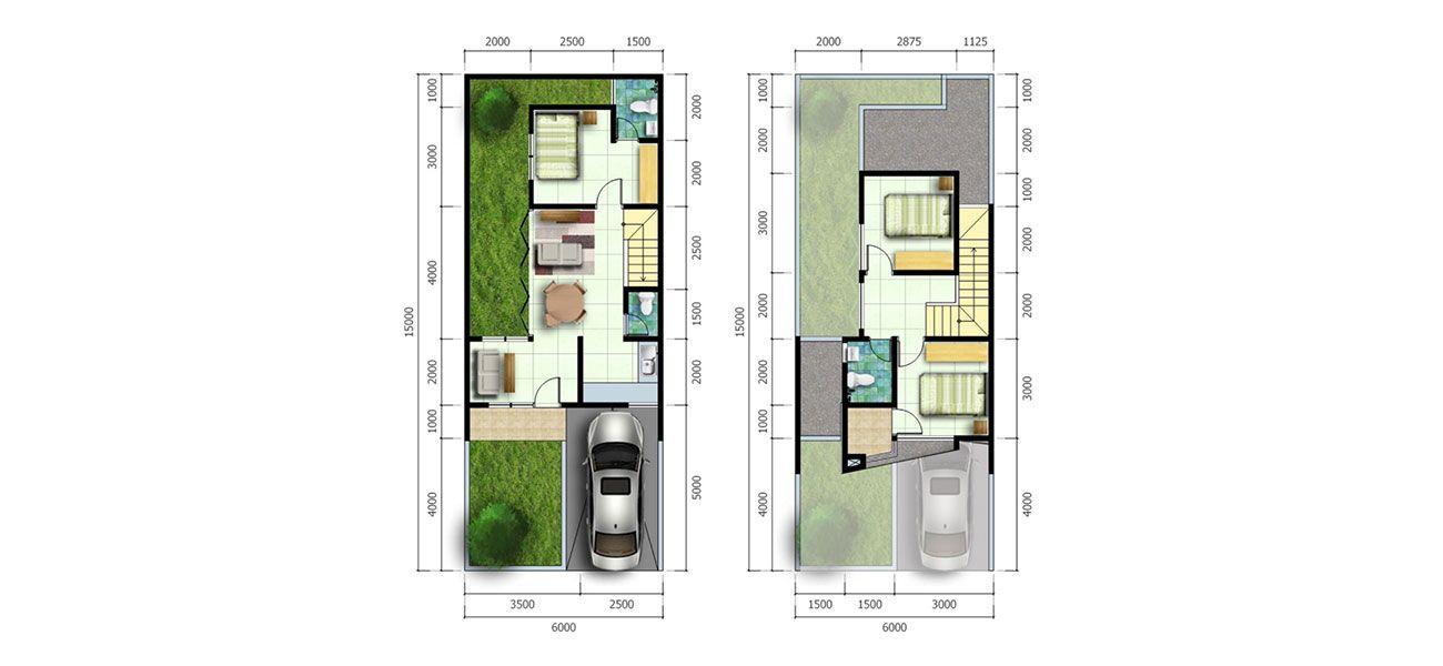 Residensial Villa Meutia Kirana Tipe Jasmine di Bekasi