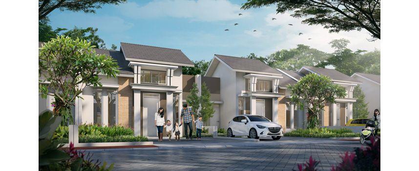 Residensial + Komersial Citra Indah Cluster Bukit Sakura Tipe 39 di Bogor