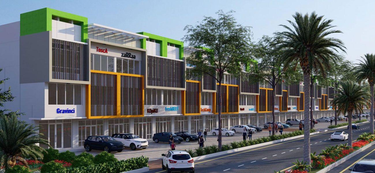 Residensial & Komersial Modernland Cilejit di Tangerang