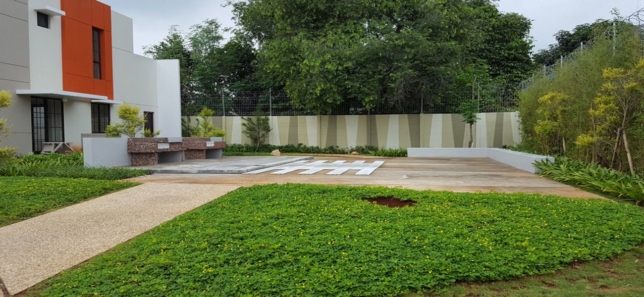 Residensial Green Village di Tangerang
